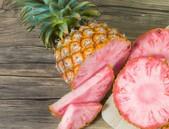 Zelená pro růžový ananas