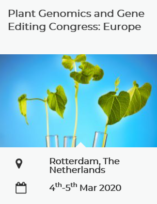 Kredit: Plant Genomics and Gene Editing Congress: Europe.