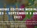 Pozvánka na webinář o genových editacích